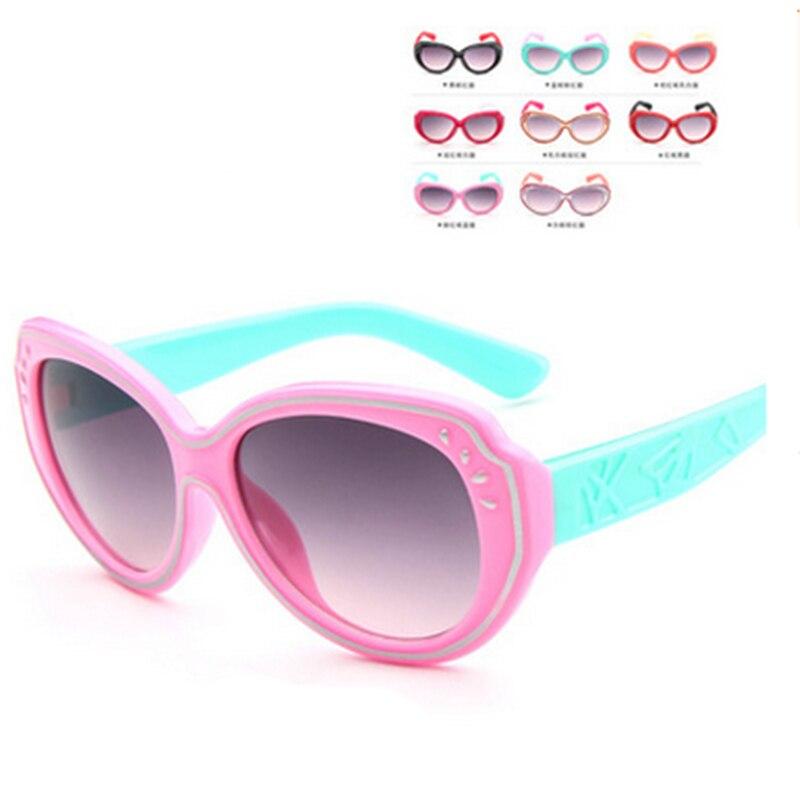 Hot sell Kids Sunglasses Boys Girl's Children Glasses UV400 Cute Children 2016 New Arrival Promotion
