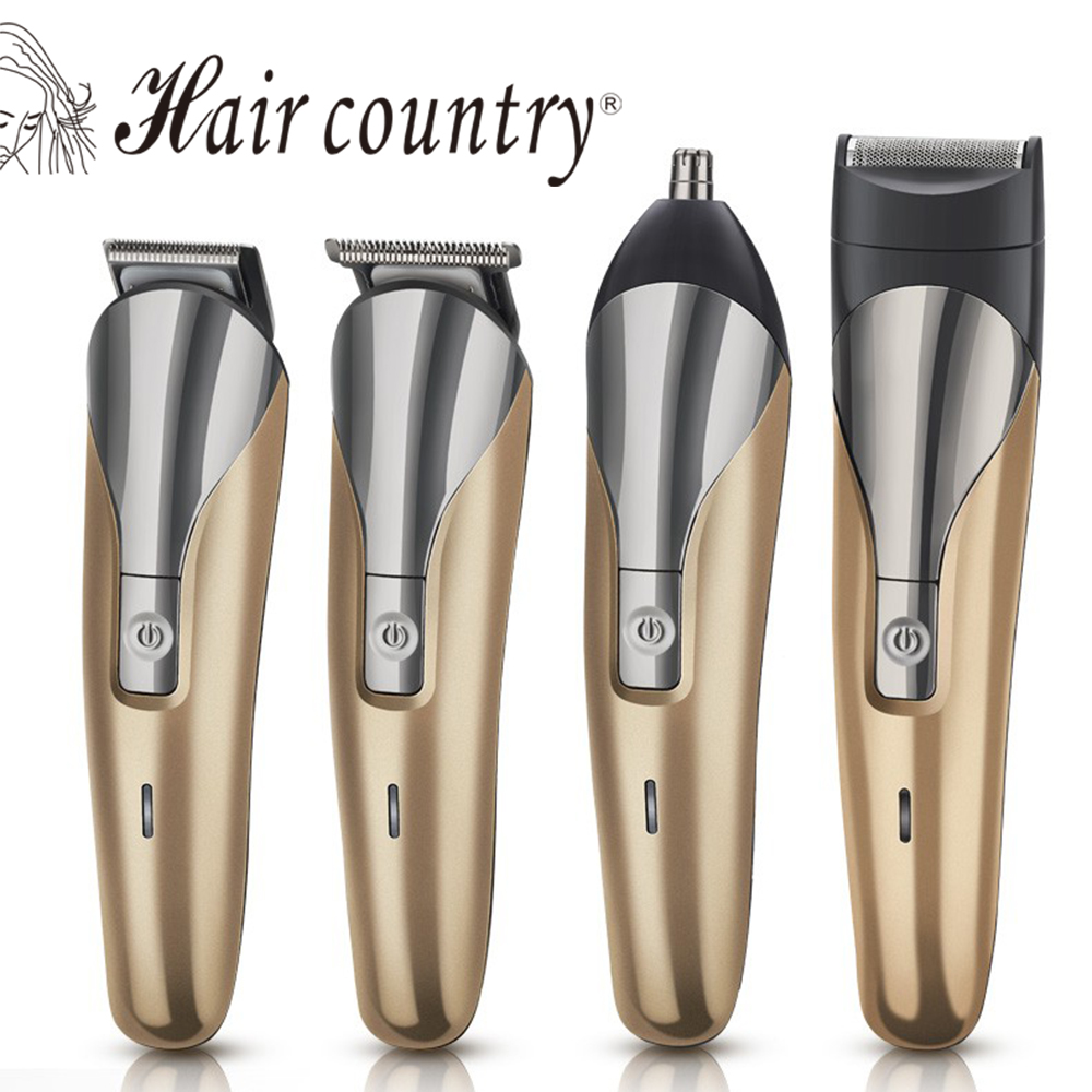 Hair Country 4 In 1 Electric Hair Care Clipper Professional Quiet Trimmer Cutting Machine Barbering Styling Tool 110V-240V valerie nixon professional practice in paramedic emergency and urgent care