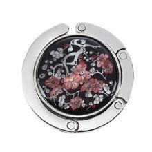 Лидер продаж мотив цветочный fleur de prunier круглый pliante порте sac cintre «кроше»
