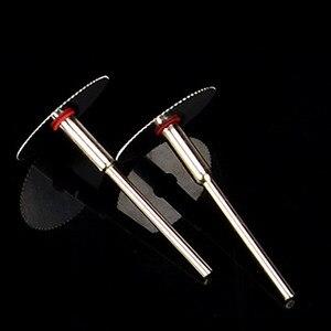 Image 3 - 5 قطعة/المجموعة الفولاذ المقاوم للصدأ شريحة معدنية أسطوانة تقطيع مع 1 مغزل ل دريميل الروتاري أدوات 16 18 22 25 32 مللي متر أسطوانة تقطيع