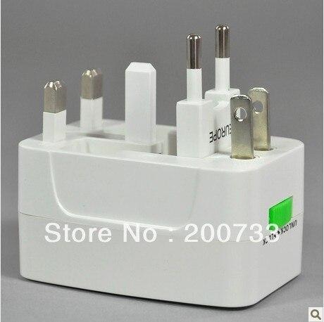 Free shipping Global travel universal adaptor 4 in 1 standard plug electric plug