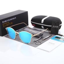 BARCUR Polarized Femal Sunglasses Mirror Oversized Driver Fishing Sun Glasses Sports HD Lens Womens Designer Glasses