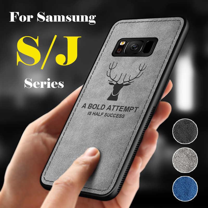 صدمات حقيبة لهاتف سامسونج غالاكسي J8 J5 J7 برو J4 J6 زائد 2018 J3 رقيقة جدا لينة Gaxaly S9 S7 حافة s8 J 7 S 8 9 9 S كامل الهاتف