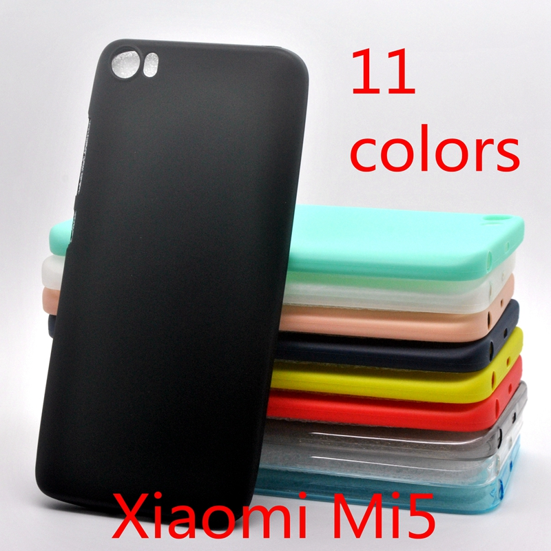Xiaomi mi5 case Xiaomi mi 5 mi5 pro case Cover Silicone case for xiaomi mi5 pro mi 5 Crystal and solid colors Soft
