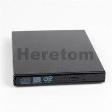 Heretom USB 2,0 9,5 мм SATA для SATA внешний DVD-RW/DVD-ROM корпус для оптического привода