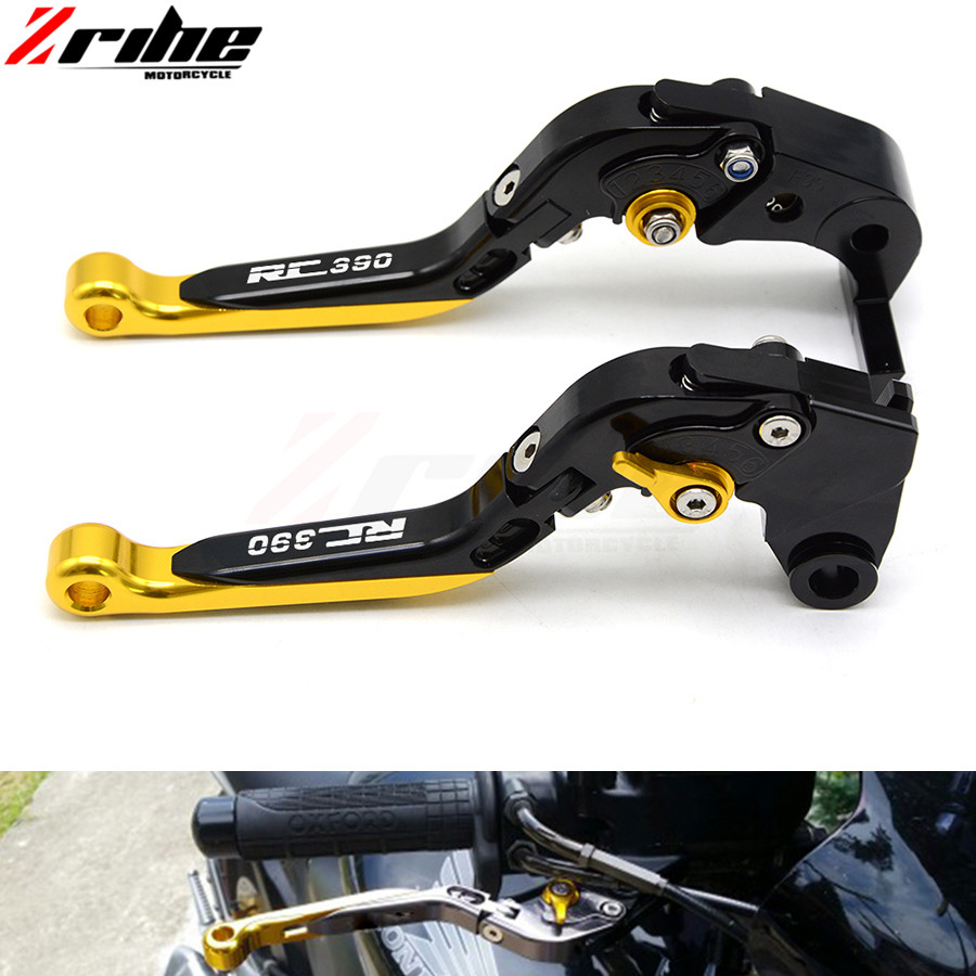 Motorcycle aluminum Adjustable Foldable Lengthening brake clutch levers for ktm rc 390 rc390 2013 2014 2015 2016 2017 13 14 15 for ktm 390 duke motorcycle leather pillon passenger rear seat black color