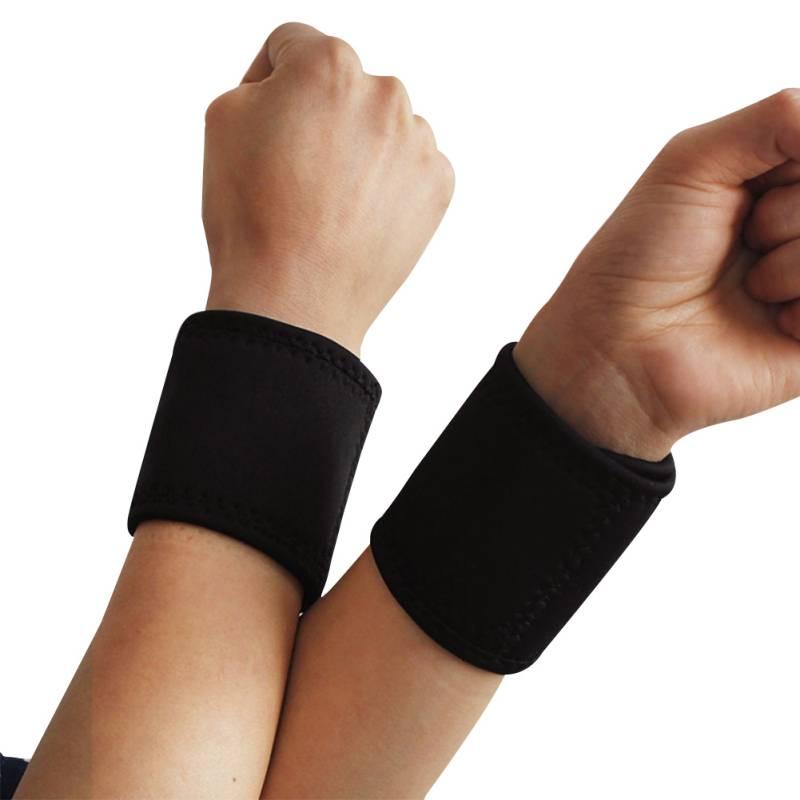 AOLIKES Outdoor Sports Breathable Carpal Wrist Support Strap Brace Arthritis Sprain Protector