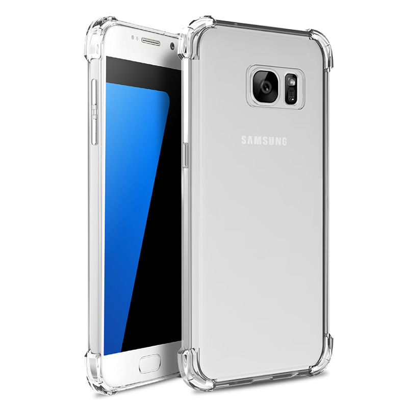 Shockproof Clear Case For Samsung Galaxy S10 S9 S8 Plus S7 S6 Edge Note 8 9 J5 A5 J3 A3 J7 A7 J6 Plus 2016 2017 2018 Phone Cover