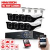 Cctv System 8 Channel AHD 4MP 3MP 1080P DVR With 8pcs Super 4MP Waterproof Indoor Outdoor