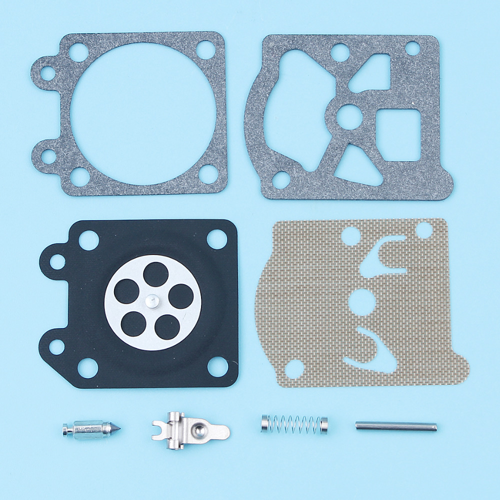 2Sets/lot Carburetor Repair Rebuild Carb Diaphragm Kit For Partner 350 351 370 371 420 Chainsaw Walbro 33-29 Replacement Parts