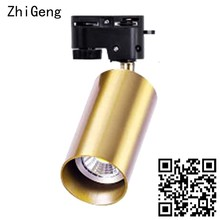 ZhiGeng GU10 Gold Single Head Surface Mounted Ceiling Lights For Background Wall Corridor Aisle Living Room