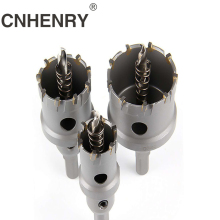 цена на 1pc 16-50mm Core Drill Bit Stainless Steel Hole Saw TCT Carbide Tip Drill Bit Metal Cutting Drilling Power Tools