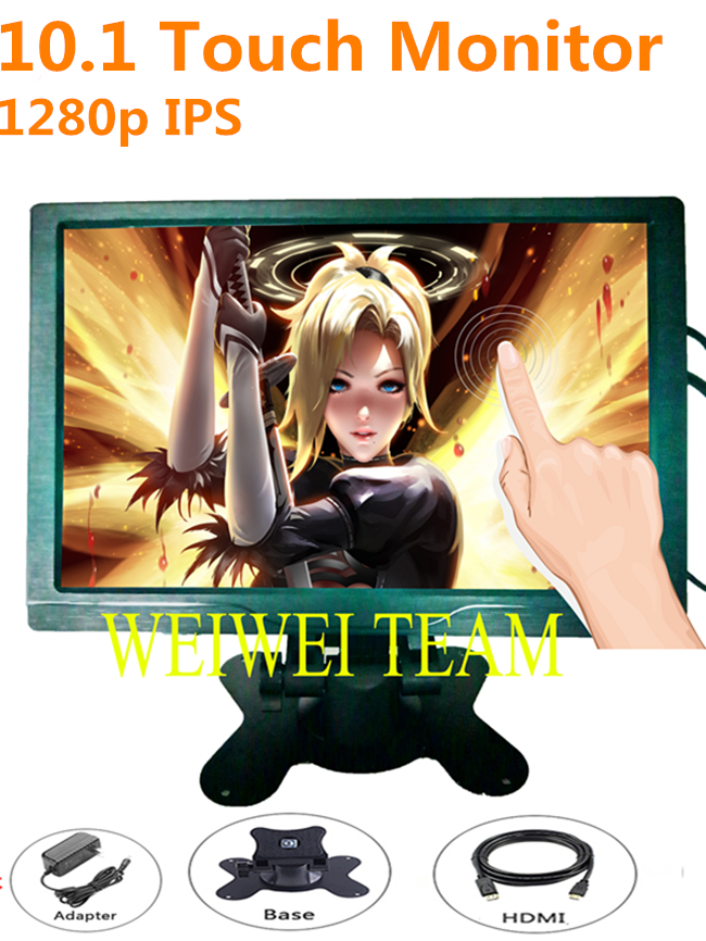 10.1 inch IPS 1280x800 Display Capacitive Touch Screen HDMI/VGA/AV/USB/TV Game Portable Monitor10.1 inch IPS 1280x800 Display Capacitive Touch Screen HDMI/VGA/AV/USB/TV Game Portable Monitor