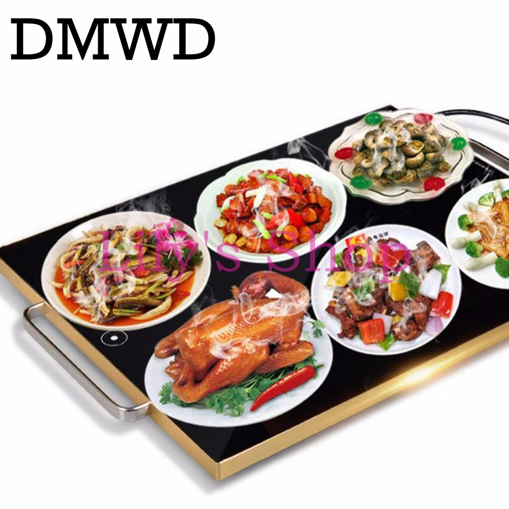 Фото Meals insulation board household intelligent warm drying table fruit Snacks Food dryer Dishes heating plate Smart warmer 220V EU