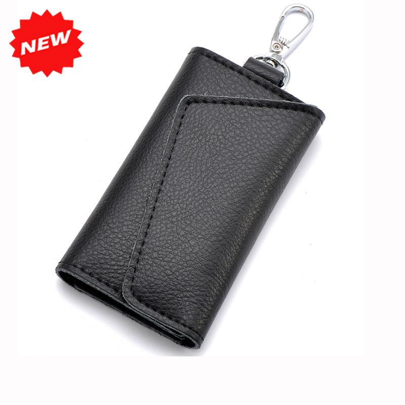 2017 Newest Genuine Leather Men Car Key Holder Casual Women Candy Colors Card Holder Bag W/ Electronic Keys Hanging,ANS-CL-503