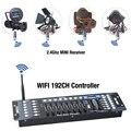Nuovo Wireless DMX 192 Canali console compatibilità DMX512 MINI Ricevitore Senza Fili Controller per luce della fase della discoteca