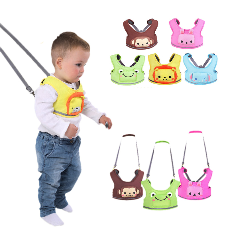 Baby Walking Belts Adjustable Strap Leashes Kids Learning Walking Assistant Infant Toddler Safety Harness Protection Backpack yourhope baby toddler harness safety learning walking assistant pink