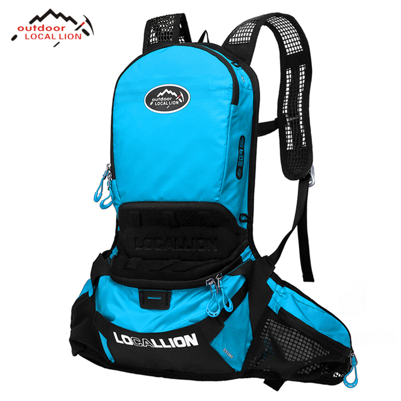 ФОТО LOCAL LION 25L Cycling Bag Ultra-light, Breathable Large Capacity S-Type Shoulder Strap Riding And Paragliding 5 Color