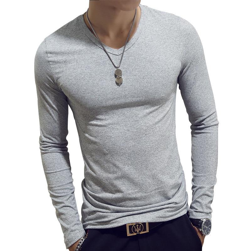 515 Automne 1 2017 À T Hiver Manches Couleur Longues Hommes Unie 2 Mince 515 515 shirt PqqwxOCn4d