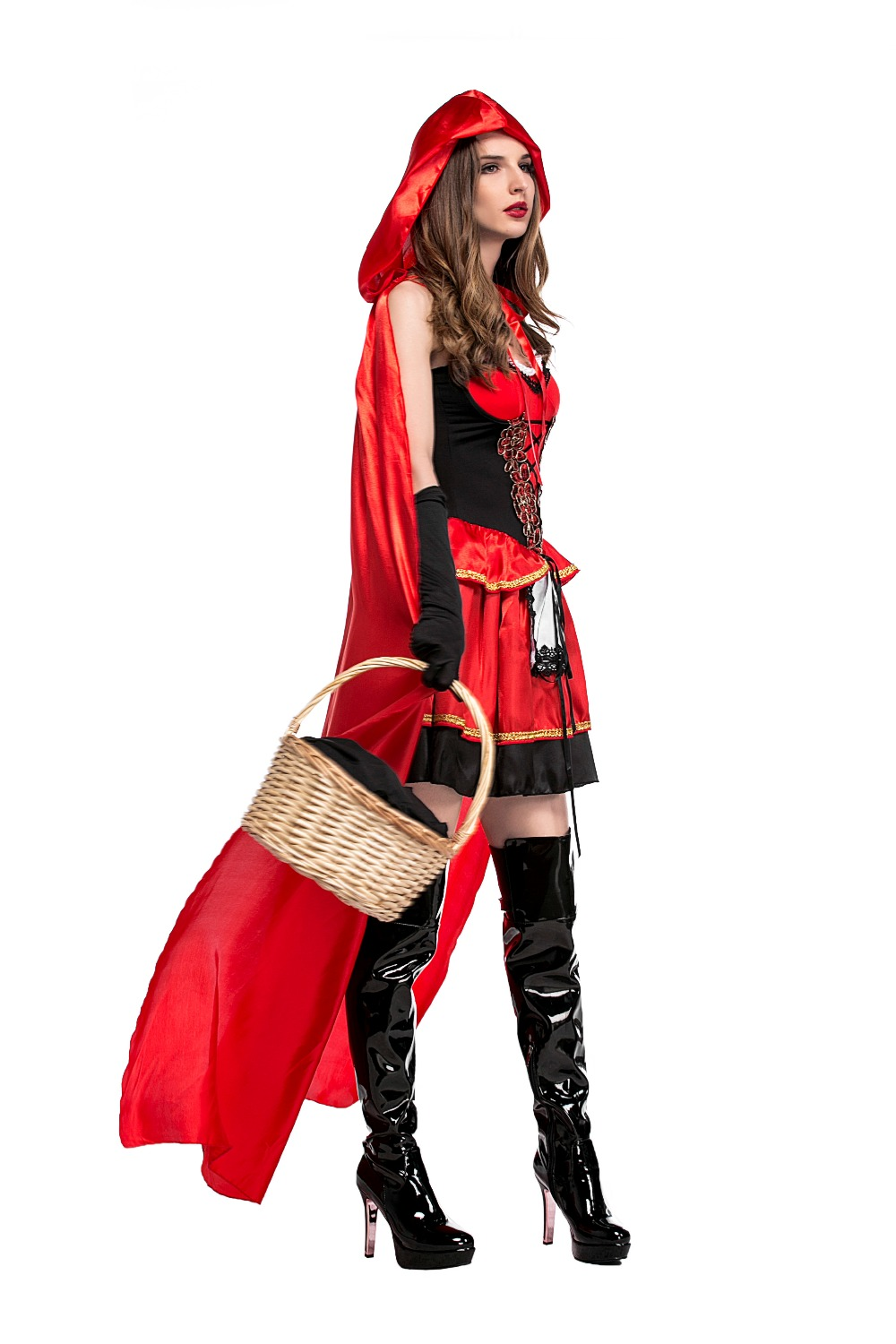 New Design Little Red Riding Hood Cosplay Clothing