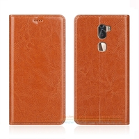 Business Crazy Horse Genuine Leather Case For Letv LeEco Cool 1 Dual Coolpad Cool1 5 5