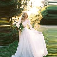 Elegant White Chiffon Skirt Custom Made Zipper Waistline A Line Floor Length Long Maxi Skirt Wedding