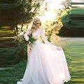 Elegant White Chiffon Skirt Custom Made Zipper Waistline A Line Floor Length Long Maxi Skirt Wedding Bridal Skirts Women