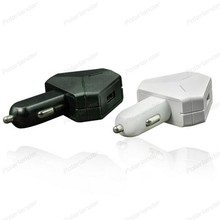Automobile vehicle 2 Ports Adaptor USB Car Charge cellphone mobile Car Cigar Lig