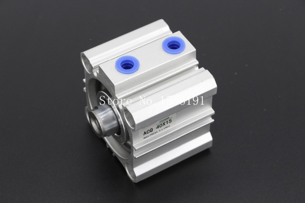 ACQ25*35   Airtac Type Aluminum alloy thin cylinder  25mm Bore 35mm Stroke acq100 75 b type airtac type aluminum alloy thin cylinder all new acq100 75 b series 100mm bore 75mm stroke