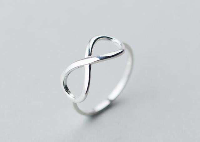 Ladys Real 925 Sterling Silver Jewelry Polished Hollow Open