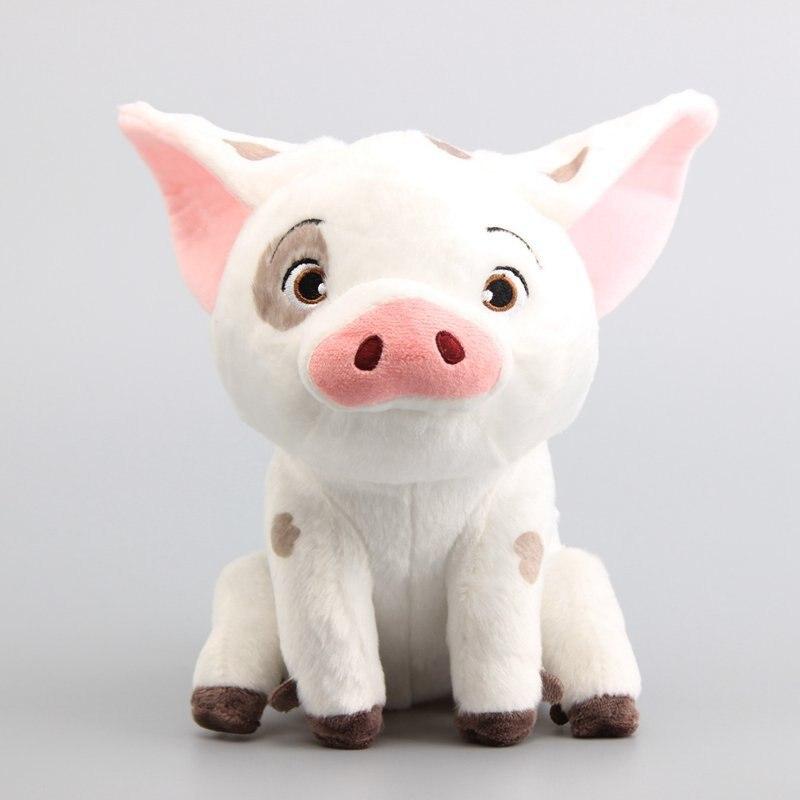 Big Size Kawaii 25cm Moana Pet Pig Pua Plush Animal Toys Sitting posture plush toy pig tumama 20cm moana pua pig anime plush toys kids gift stuffed animals plush cute softy pig doll kawaii plush