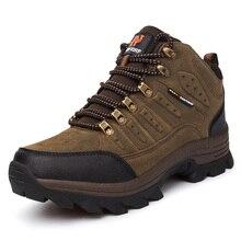 Hot Men Waterproof Travel Shoes High Quality Brand Outdoor New Autumn Winter Mens Womens Sport Trekking Mountain Climbing Boots