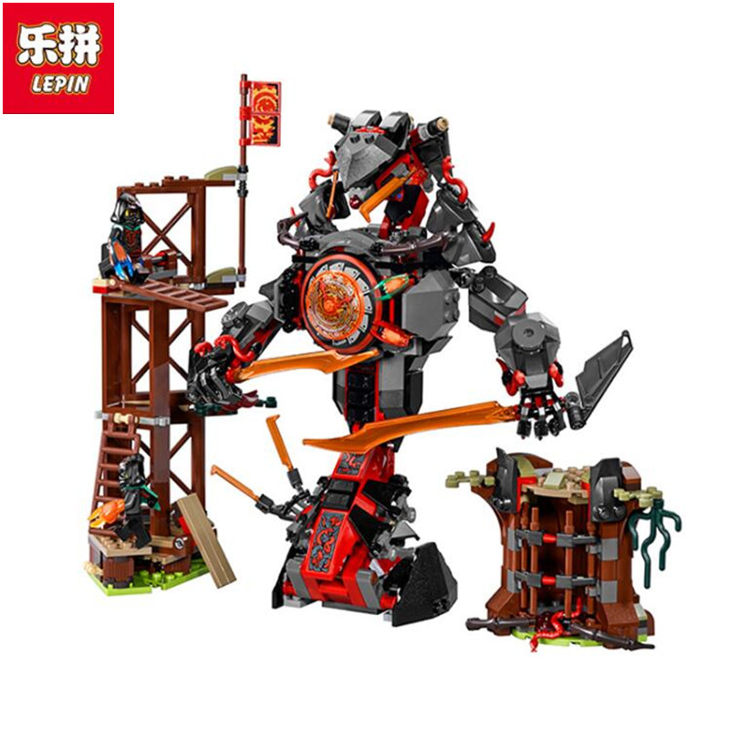 Lepin 06042 Compatible With 70626 734pcs Ninja Dawn Of Iron Doom Figure building blocks Bricks toys for children lepin 663pcs ninja killow vs samurai x mech oni chopper robots 06077 building blocks assemble toys bricks compatible with 70642