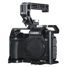 лучшая цена Video Camera Cage Protecting Case Mount for Panasonic DC-S1/S1R Camera Photo Studio Kit Quick Release Plate Camera Accessories