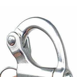 Image 4 - Takielunek żeglarstwo naprawiono kaucją snapszekla ze stali nierdzewnej 316 naprawiono oko karabińczyk żaglówka żaglówka jacht mieszkanie na świeżym powietrzu