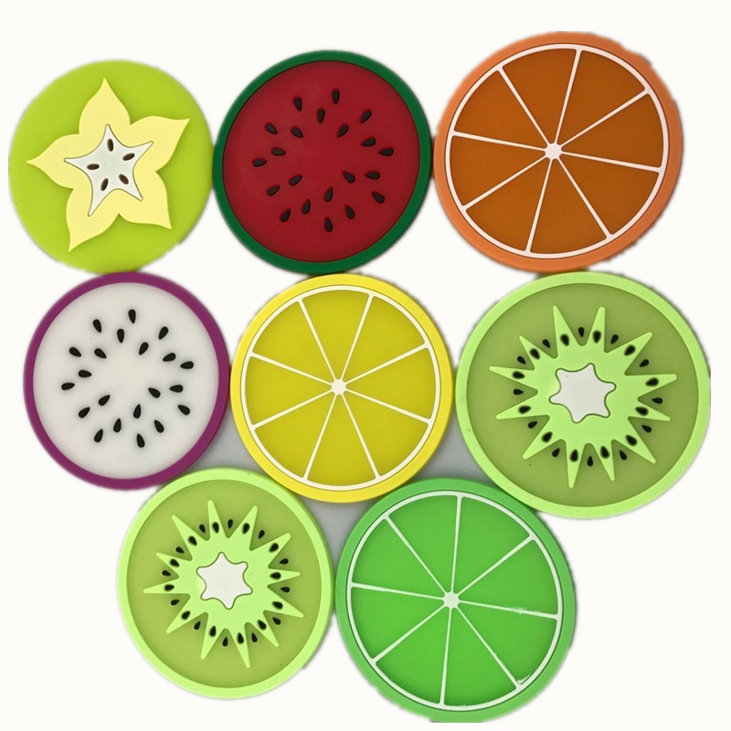 Creative Fruit Shape Antiskid Heat Insulation Coaster Bowl