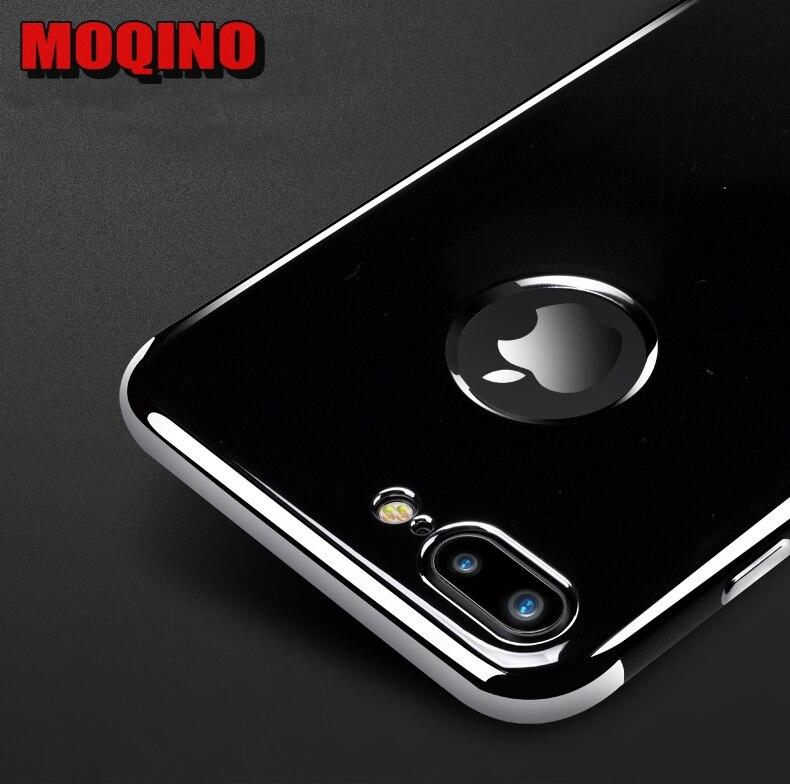 Jet Black Soft iPhone 6 6s 7 8 6 Plus 7 Plus 8Plus սիլիկոնե - Բջջային հեռախոսի պարագաներ և պահեստամասեր - Լուսանկար 2