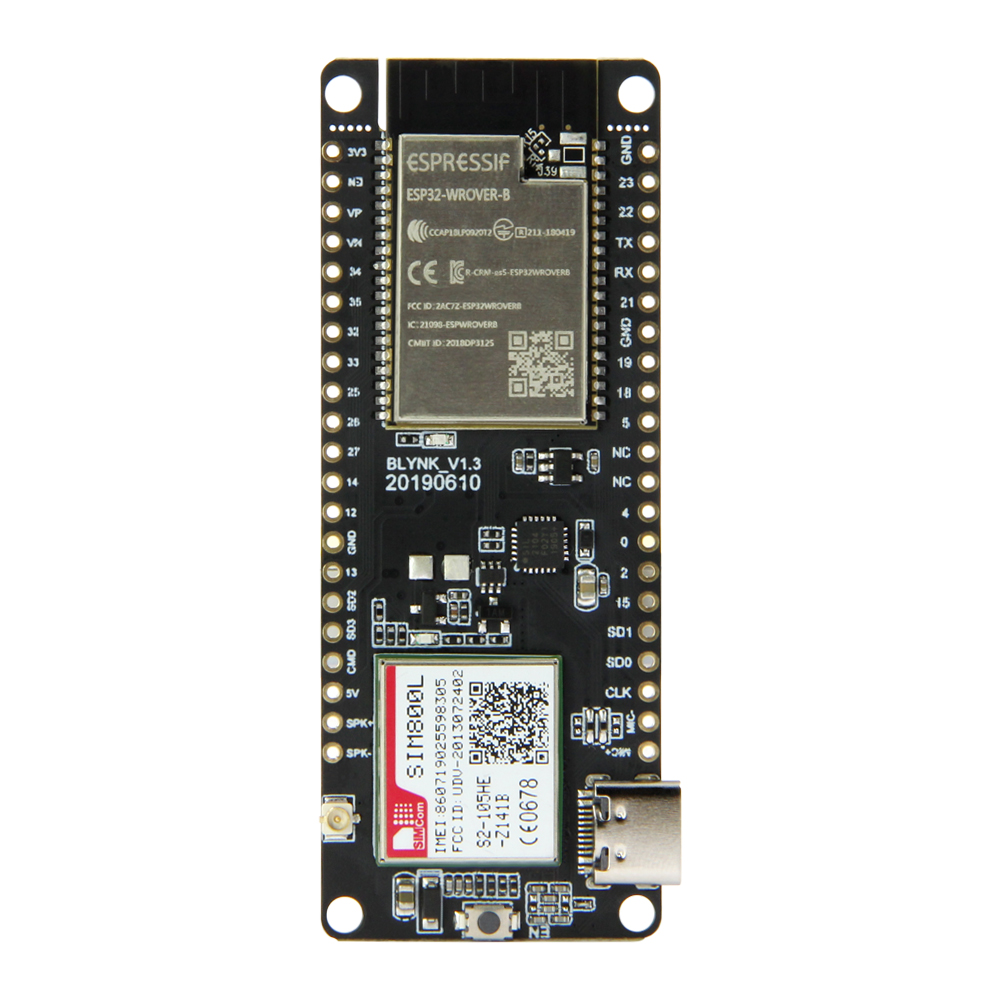 TTGO T-Call V1.3 ESP32 Wireless Module GPRS Antenna SIM Card SIM800L Module Звуковая карта
