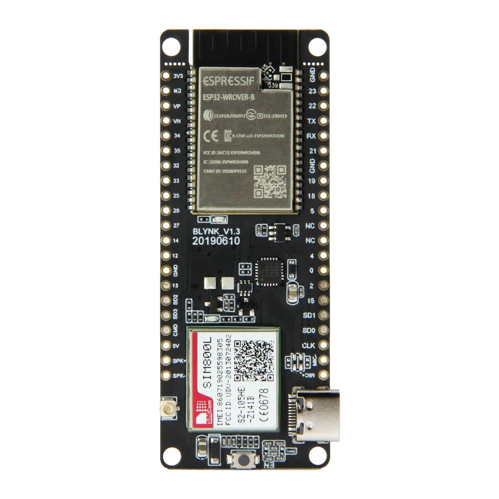 TTGO T-Call V1.3 ESP32 Wireless Module GPRS Antenna SIM Card SIM800L Module morphe black and white brush set