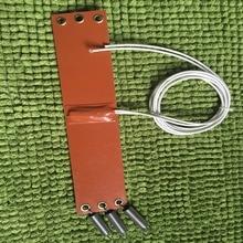 50X250 мм 12V 100 W/термостат 65C, силиконовый Нагреватель Коврик автомобиля топливный фильтр дизельный Обогреватель Нестандартная конструкция фильтра автомобиля нагреватель