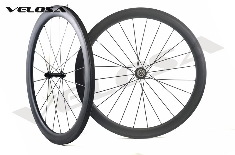 Outlet/Sale Road bike carbon wheel,50mm clincher/tubular,700C road bike wheel classic 23mm width carbon rim