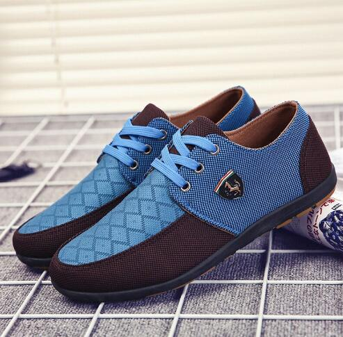 2018 mens Casual Shoes mens canvas shoes for men shoes men fashion Flats Leather brand fashion suede Zapatos de hombre in Men 39 s Casual Shoes from Shoes