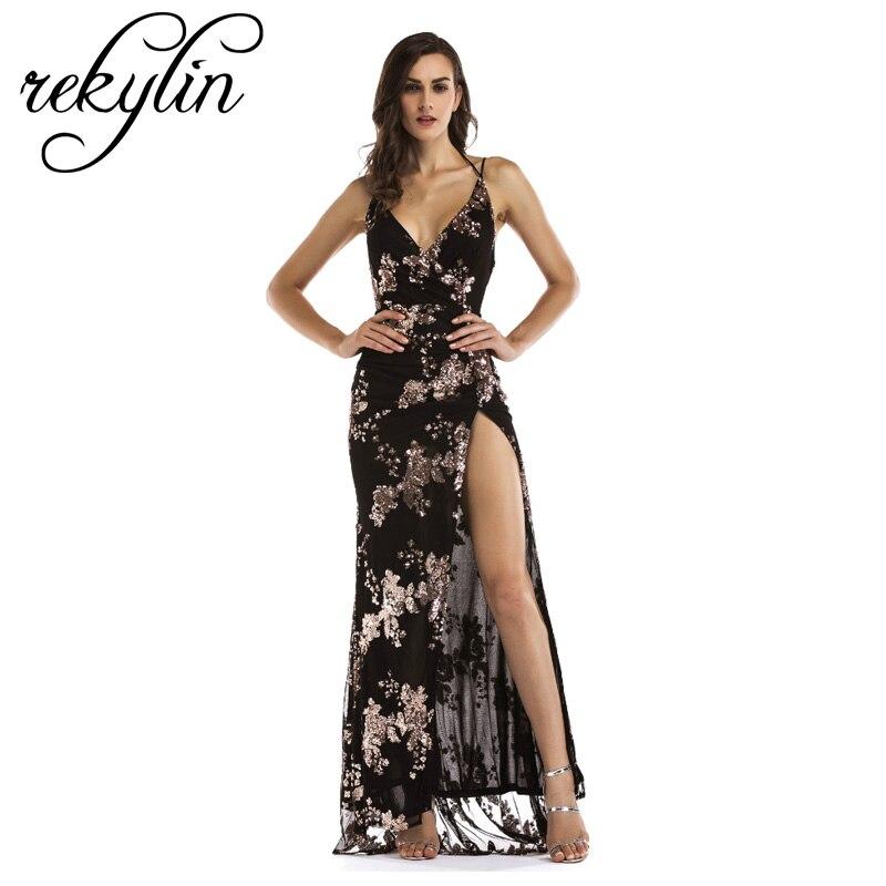 Longue grande taille printemps été robe femmes 2019 Vintage élégant imprimer robes de soirée Sexy profonde col en V plage Maxi robe