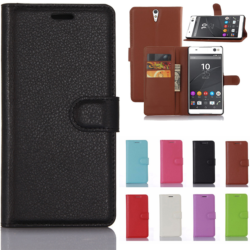 PU Leather Wallet Case for Sony Xperia C5 Ultra Dual E5533 E5563 E5553 E5506 6.0'for Sony Xperia C5 Ultra case Phone Coque Funda