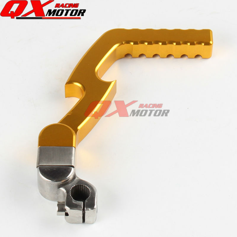 MOTORCYCLE CNC Alloy Kick Start Starter Lever 13mm for LF YX ZS 50cc 70cc 90cc 110cc 125cc Pit bike Dirt Bike Free shipping