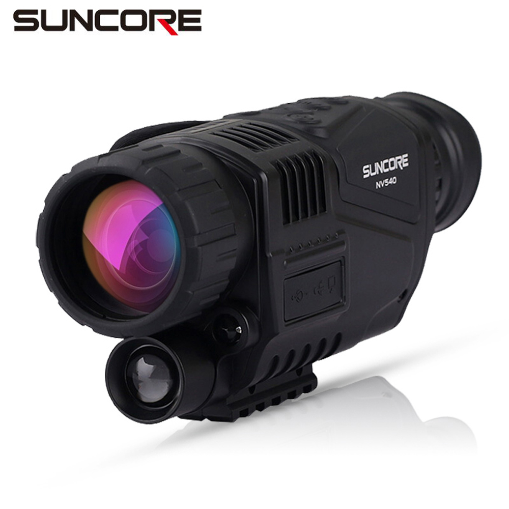 Free shipping! Suncore 5x40mm Night vision Monocular telescope with SD card camera and video function free delivery children with monocular space telescope 600 50mm