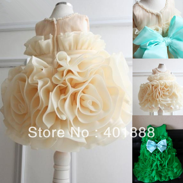 Champagne and green princess toddler ball gown silk flower girl champagne and green princess toddler ball gown silk flower girl dress mightylinksfo