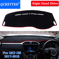 QCBXYYXH Car Styling Dashboard Protective Mat Shade Cushion Insulation Pad Interior Carpet For MG GS 2015