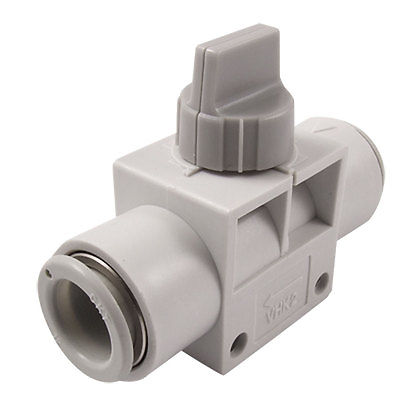 VHK2-12F-12F 12mm OD Air Tube Push in Quick Connector Pneumatic Hand Valve kit engineering pneumatic air driven mixer motor 0 6hp 1400rpm 16mm od shaft