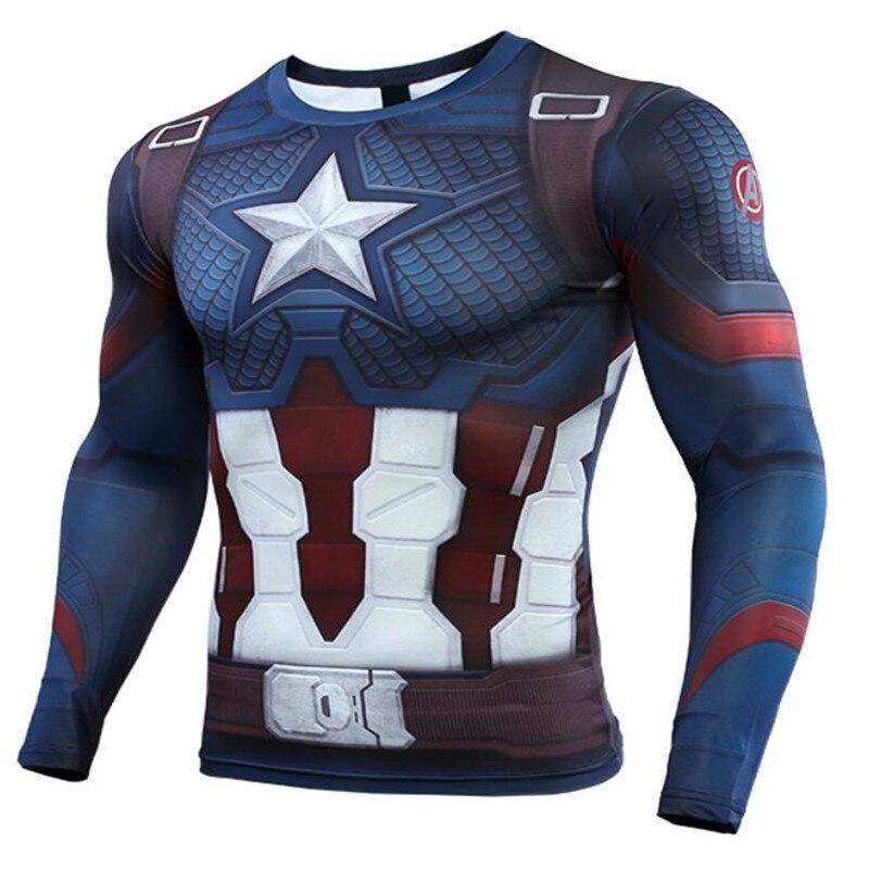 Marvel The Avengers 4 Endgame Quantum Realm Cos Captain America   t     shirt   ron Man tshirt Men 3d printed End Game Sweatshirt